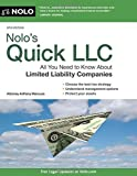 img - for Nolo's Quick LLC: All You Need to Know About Limited Liability Companies (Quick & Legal) by Mancuso Attorney, Anthony (February 27, 2015) Paperback book / textbook / text book