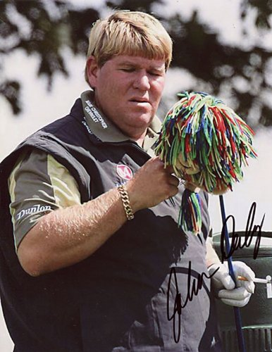 John Daly Autographed Golf - 3