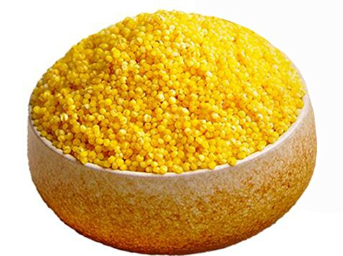Shanxi Specialty: Qinzhouhuang Foxtail Millet High-fiber Cereal for Making Porridge 400g/14.1oz by ho rice