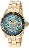 Invicta Women's 'Pro Diver' Automatic Stainless Steel Diving Watch, Color:Gold-Toned (Model: 23456)