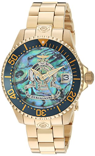 Invicta Women's 'Pro Diver' Automatic Stainless Steel Diving Watch, Color:Gold-Toned (Model: 23456) by Invicta