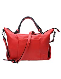 SAIERLONG New Womens Genuine Leather Handbags Shoulder Bags