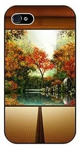 iPhone 6 Autumn in Japan - black plastic case / Nature, Animals, Places Series, floral