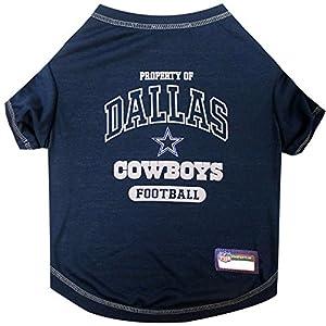 NFL DALLAS COWBOYS Dog T-Shirt, X-Small
