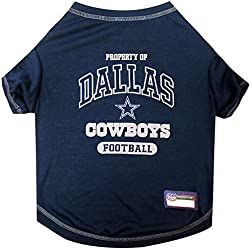 NFL DALLAS COWBOYS Dog T-Shirt, Small