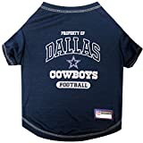 Pets First NFL DALLAS COWBOYS Dog T-Shirt, Small