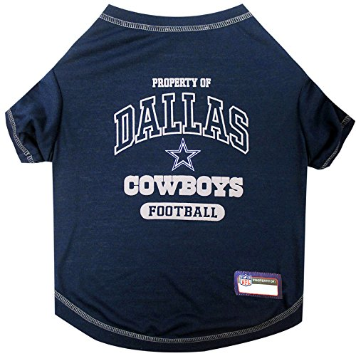 NFL DALLAS COWBOYS Dog T-Shirt, Small