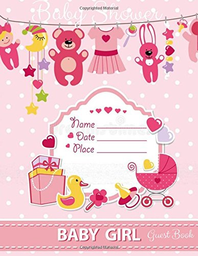 Download Baby Shower Guest Book: Guest Book,Baby showe Message Book,Memorable Celebration,Gift Log,Large 8.5x11 (Volume 3) pdf epub