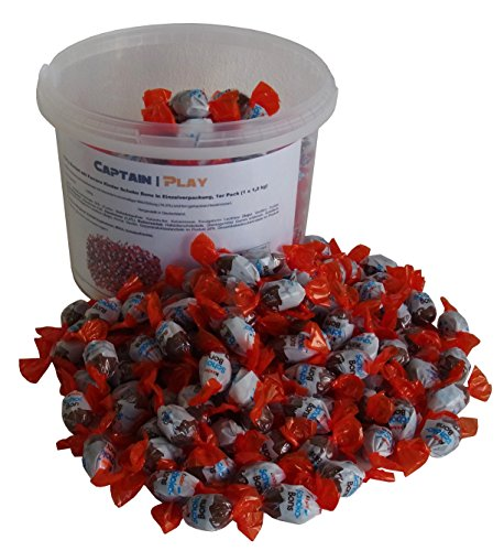 Party Bucket mit Ferrero Kinder Schoko Bons in Einzelverpackung, 1er Pack (1 x 1,2 kg)