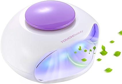 TOUCHBeauty Secador de uñas con aire LED, lámpara de uñas LED ...