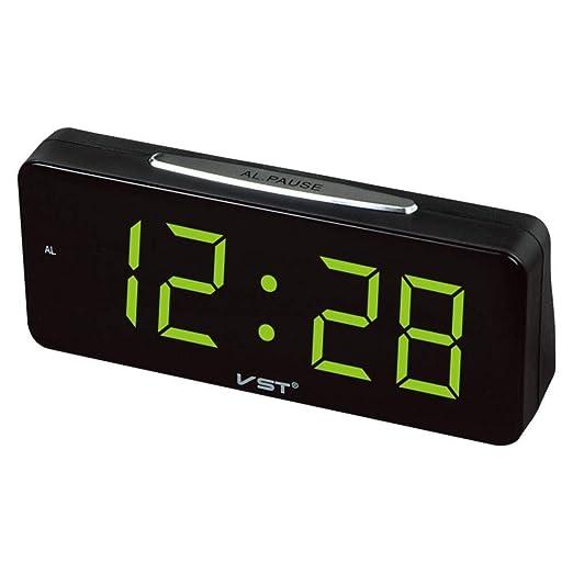 haohao Plug-in de Mesa Digitales del Despertador del Reloj Reloj ...