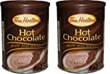 hot chocolate can - 2 Cans of Tim Hortons Hot Chocolate - Rich and Delicious 17.6oz (500g) Each – Imported from Canada