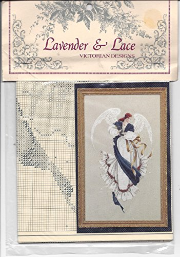 Lavender & Lace Angel of Hope Counted Cross Stitch Pattern (Victorian Designs)