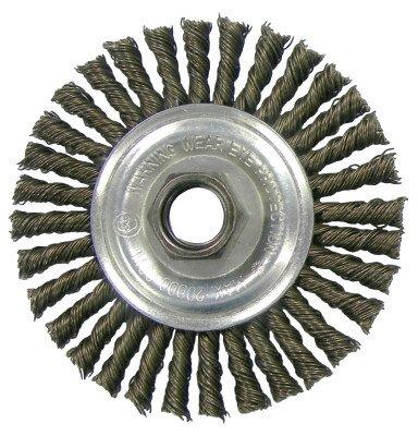 (Weiler 804-36218 Vortec Pro Stringer Bead Knot Wire Wheel, 4