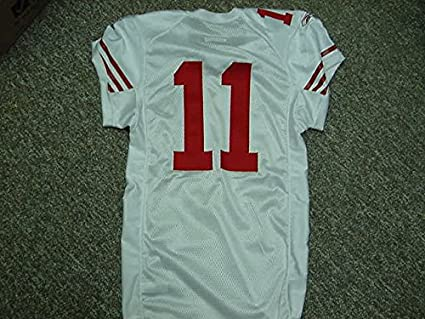 sports shoes e49d5 046b3 Alex Smith San Francisco 49ers 2009 Game Worn Jersey at ...