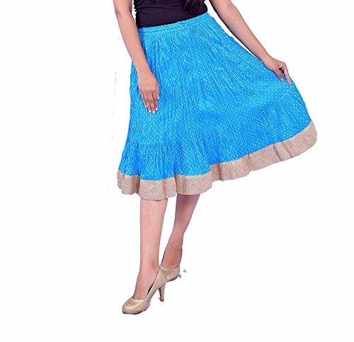 Indian Handicrfats Export N2CREATIONS Printed Women Regular Skirt