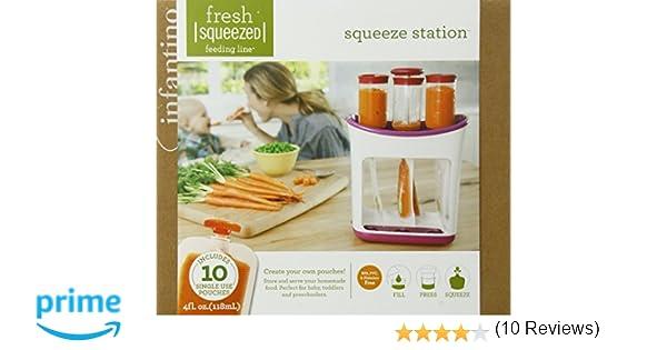 Infantino - 24376 - Set Envasado Fresh Squeezed Infantino: Amazon ...
