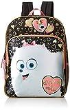 The Secret Life of Pets Girls' Universal Gidget Black 16 Inch Backpack
