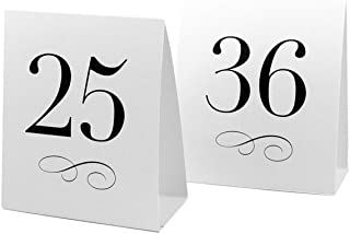 Weddingstar Table Number Tent Style Card Numbers 25 to 36  sc 1 st  Amazon.com & Amazon.com: Weddingstar Table Number Tent Style Card Numbers 13 ...