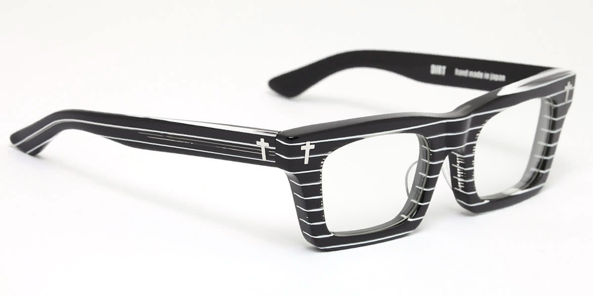 DIRT BKST 53サイズ EFFECTOR (エフェクター) メガネ 伊達メガネセット メンズ レディース B00WJU9XIY