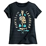 : Disney Pirates of the Caribbean: Dead Men Tell No Tales Striped Tee for Girls Size S (5/6)