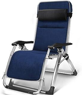 YY_C1 Chaises Longues, chaises Pliantes, chaises Longues, chaises de Bureau, chaises de Sieste, chaises Longues de Plage, chaises Longues en Coton et Daim