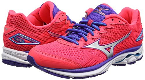 Femme Rider Pour Silver Chaussures De Course Mizuno diva w Wave Pink Liberty 20 Rose 8wU4qI6gn