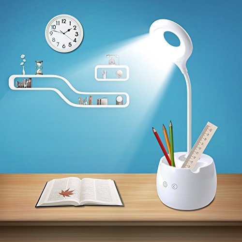 Your Supermart 2in1 Multifunction Adjustable Touch LED Desk Table Lamp Nightlight Pen Holder
