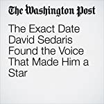 The Exact Date David Sedaris Found the Voice That Made Him a Star | Rachel Manteuffel