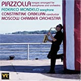 Piazzolla: Tangos arranged for saxophone and orchestra