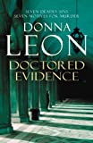 Front cover for the book Doctored Evidence by Donna Leon