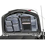 Tour Master Select Mens Trunk Lid Organizer Street Motorcycle Tool Bag - Black/Gray Interior / One Size