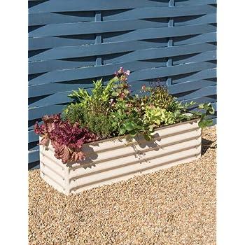 Amazon Com Birdies Garden Products Patio Raised Bed With Base Garden Amp Outdoor