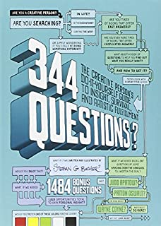 344 Questions: The Creative Person's Do-It-Yourself Guide to Insight, Survival, and Artistic Fulfillment (Voices That Matter) (0321733002) | Amazon Products