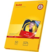 Kodak 50 Sheets Gloss Instant Dry 240gsm A4 Photo Paper, (5740-094)