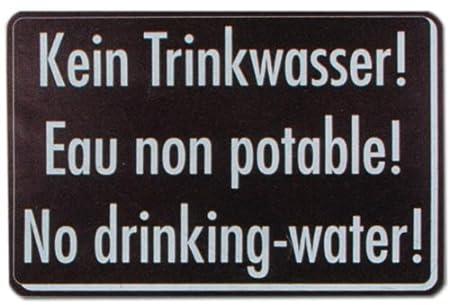 Cartel de - sin agua potable ... - el agua de beber de la ...