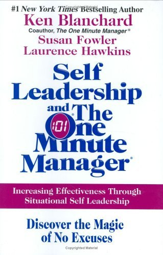Amazon self leadership and the one minute manager increasing self leadership and the one minute manager increasing effectiveness through situational self leadership by fandeluxe Gallery