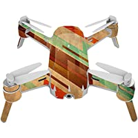 Skin For Yuneec Breeze 4K Drone – Abstract Wood | MightySkins Protective, Durable, and Unique Vinyl Decal wrap cover | Easy To Apply, Remove, and Change Styles | Made in the USA