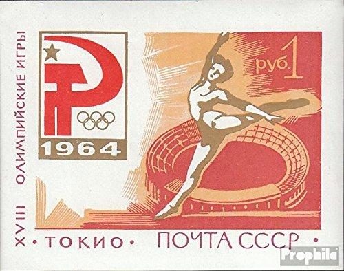 Olimpiadi Prophila Collection Unione Sovietica Block 35 completa Edizione 1964 Olympics Estate /´64 Francobolli per i collezionisti