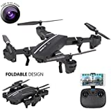 8807W RC Quadcopter Drone with HD Camera, Air Pressure Altitude Hold & Rolls Headless Gravity Sensor 2MP Helicopter