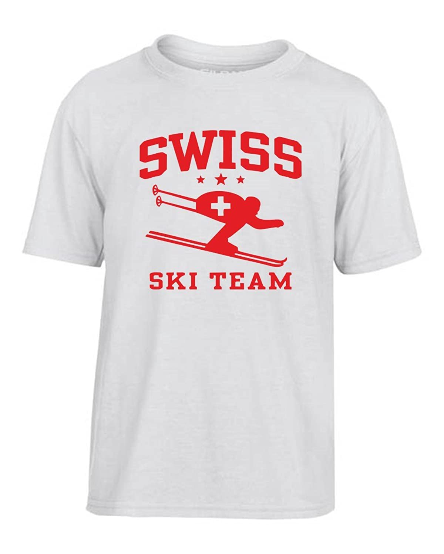 T-Shirtshock - T-shirt Kinder OLDENG00261 swiss ski team