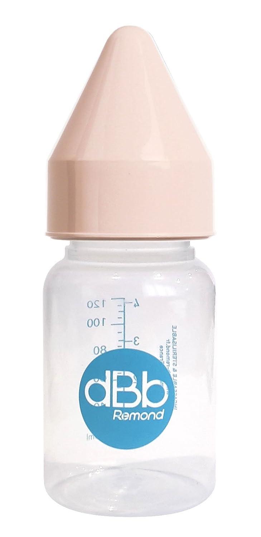 dBb Remond R/égulAir Biberon avec T/étine NN en Caoutchouc Rose 120 ml
