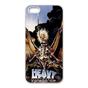 Heavy Metal alta resolución Cartel iPhone 4 4S caja del teléfono celular funda blanca del teléfono celular Funda Cubierta EEECBCAAJ77750
