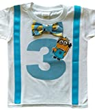 Product review for 3rd Birthday Shirt Boys Minions Tee