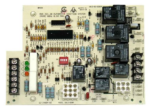 Rheem Ruud Furnace - OEM Upgraded Rheem Ruud Weather King Corsaire Furnace Control Circuit Board 62-24084-01