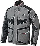 RSタイチ(アールエスタイチ)バイクジャケット グレー/マシーン (サイズ:L) DRYMASTER FRONTIER(フロンティア)オールシーズンジャケット RSJ709