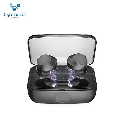 Amazon com: LYMOC C3 TWS Wireless Headset 3000mAh Power Bank Bar