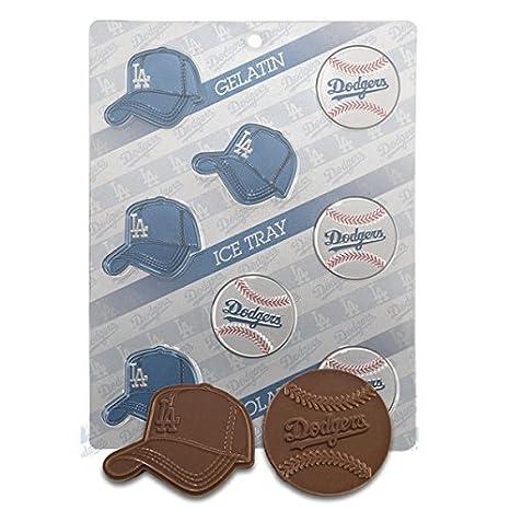 Gorra de LA liga Candy Chocolate con forma de - Los Angeles LA Dodgers: Amazon.es: Hogar