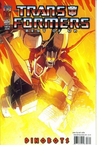 Transformers - Best of UK Dinobots #3 : Dinobot Hunt (IDW Publishing)