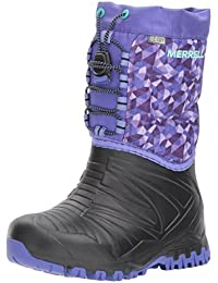 Merrell Girl's Snow Quest Lite Waterproof Ankle Boots